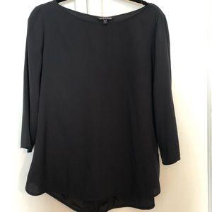 Express three-quarter blouse